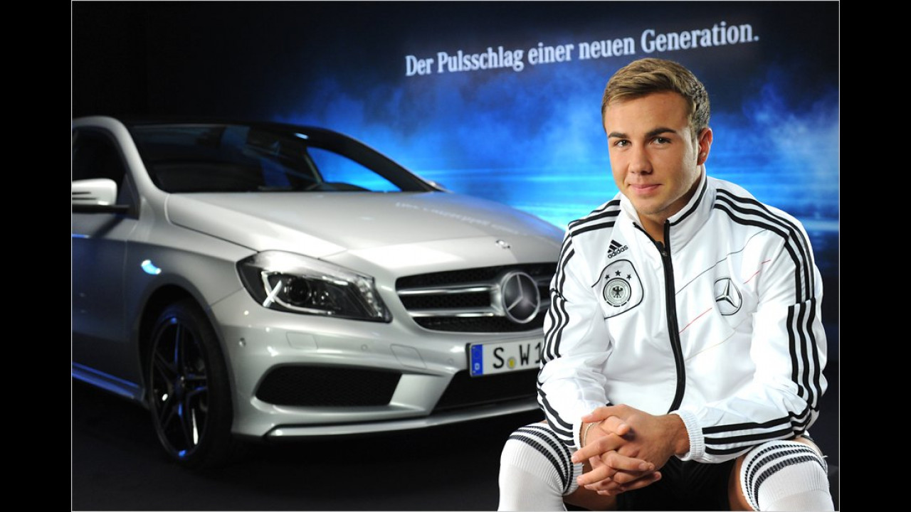 Mario Götze: Mercedes A-Klasse
