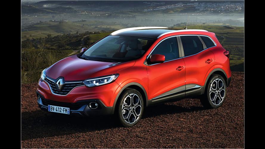 Renault Kadjar (2015): Neues Kompakt-SUV vorgestellt