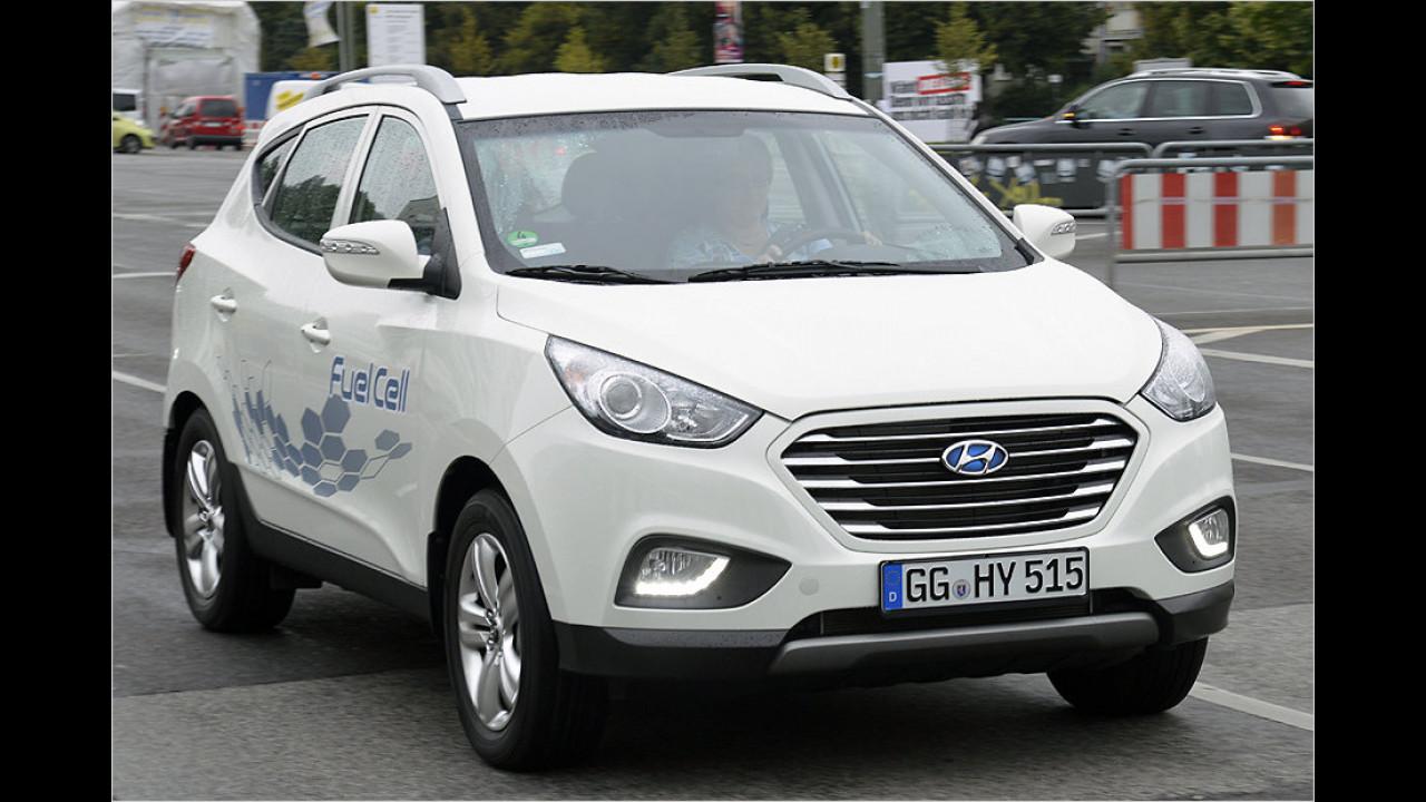 Hyundai: 100-kW-Brennstoffzelle (Hyundai ix35)