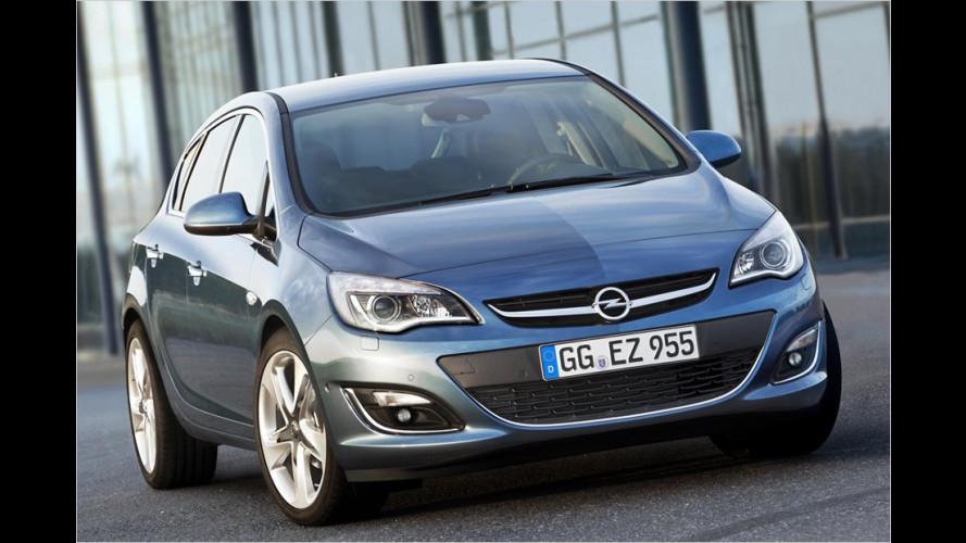 Opel Astra 2012: Facelift und Familienzuwachs