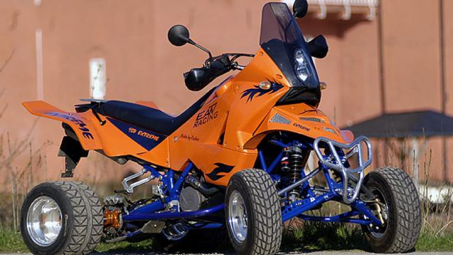 KTM E-ATV: dalla Germania i quad su base 990 Adventure