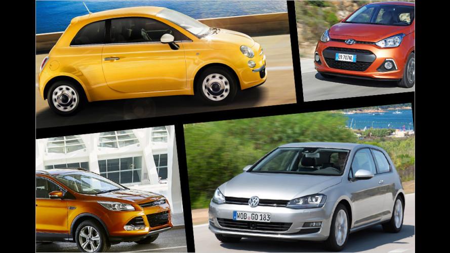 Rabatt-Frühling am Automarkt