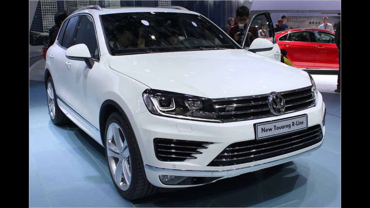 VW Touareg Facelift
