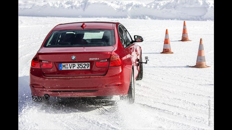 GTÜ-Winterreifentest 2015: Pneus der Größe 225/50 R17