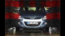 Sauberes Auto ohne auszusteigen
