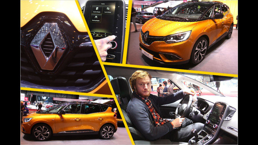 Sitzprobe: Der neue Renault Scénic