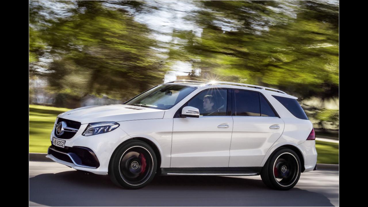 Mercedes-AMG GLE 63 S: 4,2 Sekunden