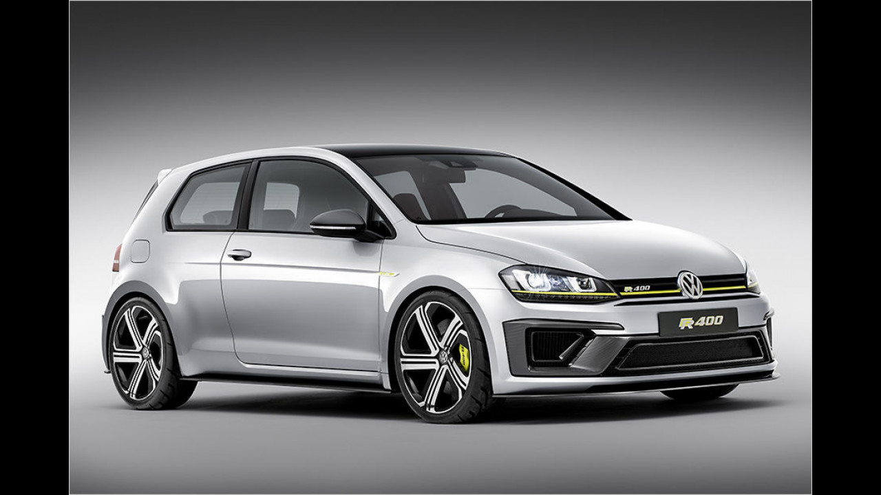 VW Golf R420: 420 PS