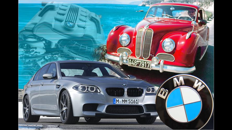60 Jahre V8-Motoren bei BMW