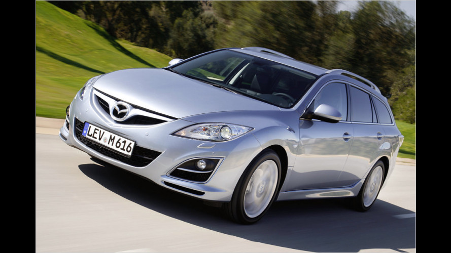 Mazda 6 2.2 MZR-CD Sport Combi mit 180-PS-Diesel im Test (2011)