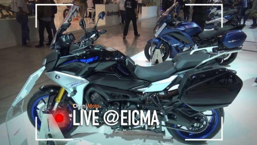 Yamaha Tracer 900 e 900 GT 2018, la sport-tourer si rinnova [VIDEO]
