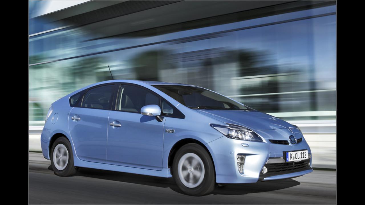 Platz 4: Toyota Prius Plug-In Hybrid