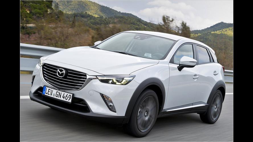 Neuer Mazda CX-3 (2015) im Test: Held für kleines Geld