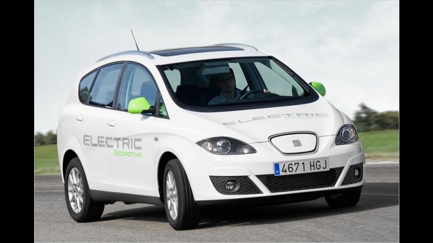 Plug-in-Hybrid auf Basis des Leon und ein Altea XL mit Elektroantrieb