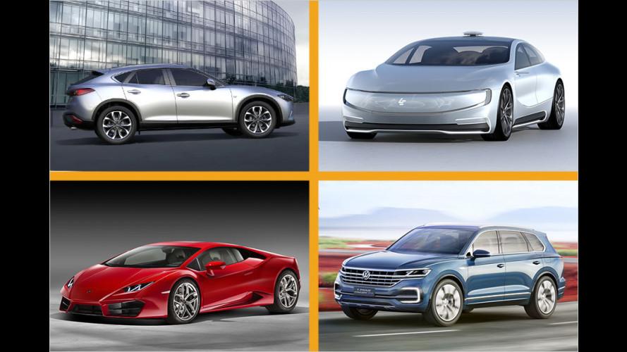 Die Highlights der Auto China 2016
