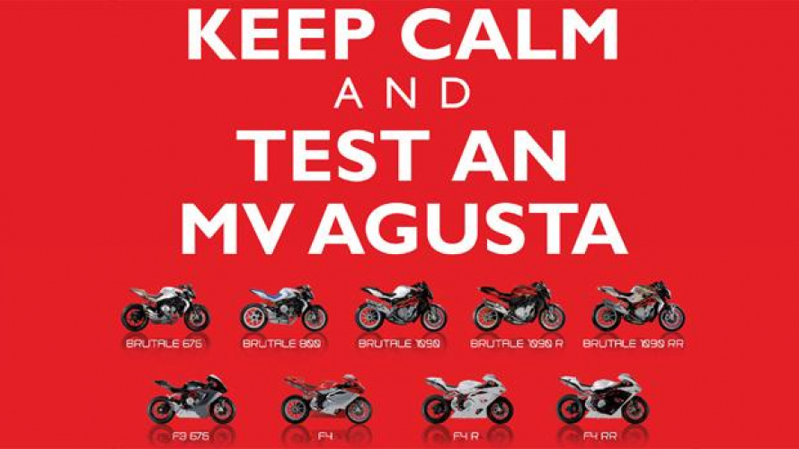 MV Agusta: Test Ride a San Martino del Lago