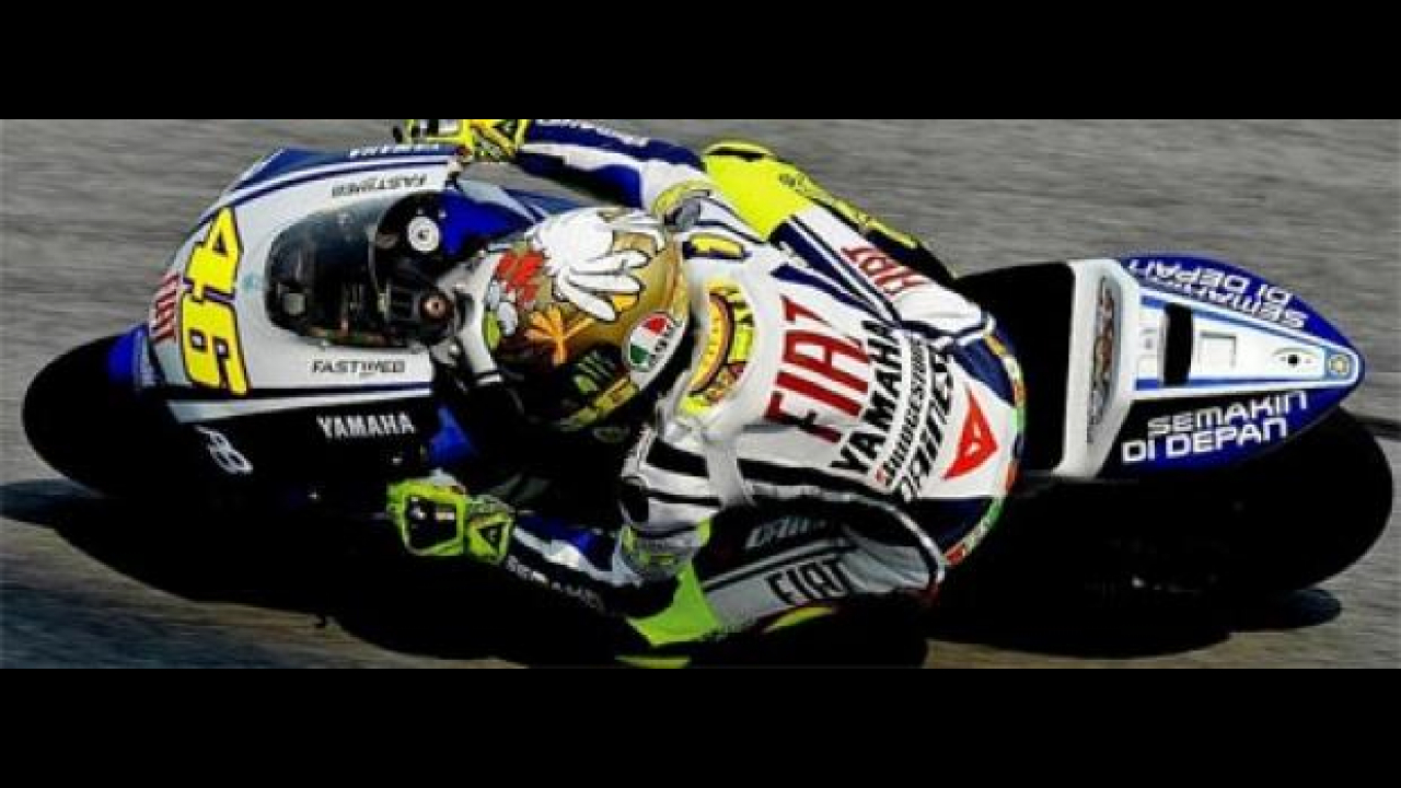 MotoGP 2010, Sepang/2, Test day/3: Rossi braccato dalle rosse