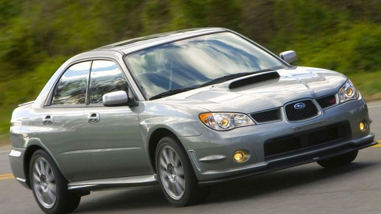 2007 Subaru Impreza WRX STI Limited