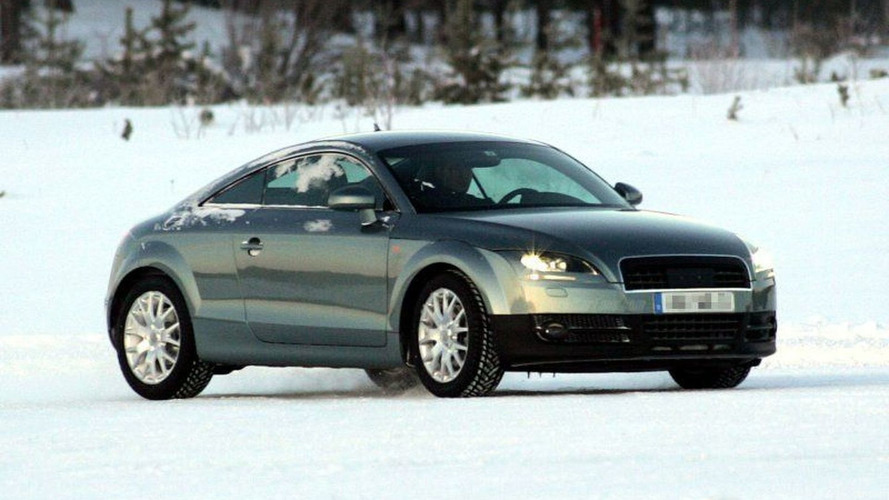 New Audi TT Coupe and Roadster Spy Pics