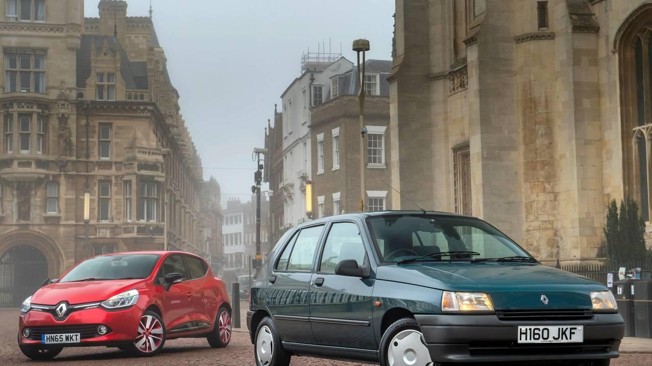 Renault Clio I - Renault Clio IV