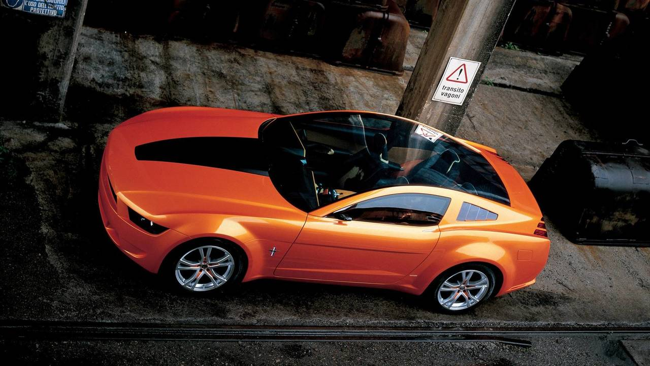 2. 2006 Ford Mustang Giugiaro konsepti