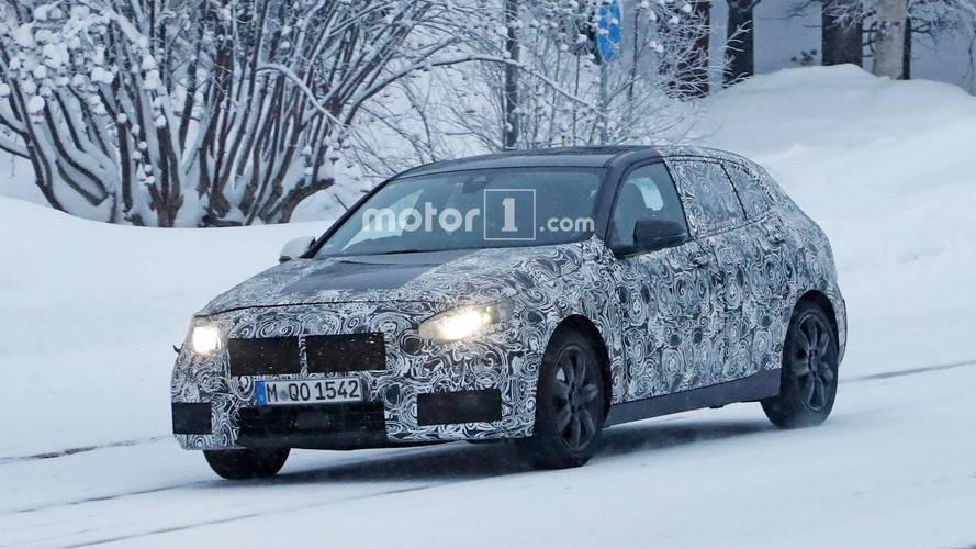 BMW Serie 1 fotos espía en la nieve