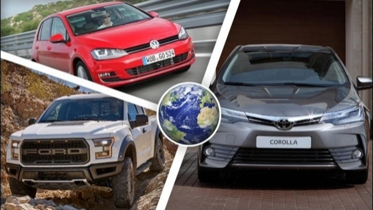 [Copertina] - Le 100 auto più vendute del mondo