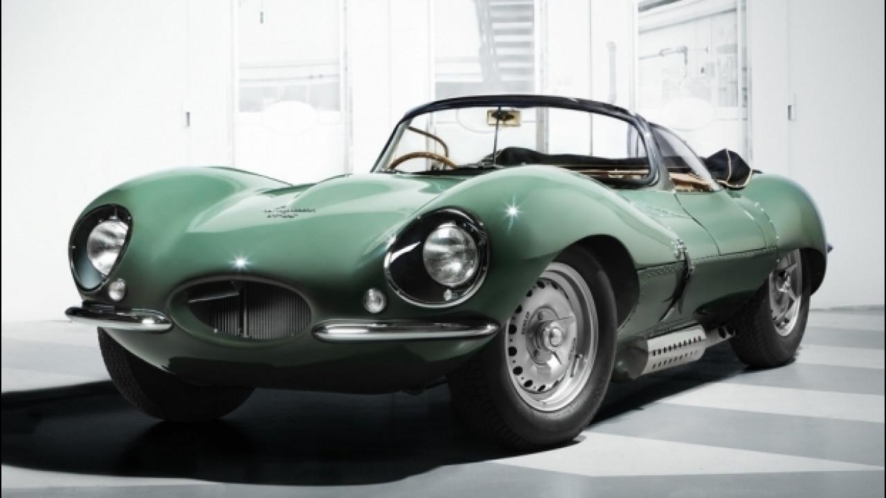 """[Copertina] - Jaguar """"resuscita"""" la XKSS del 1957"""
