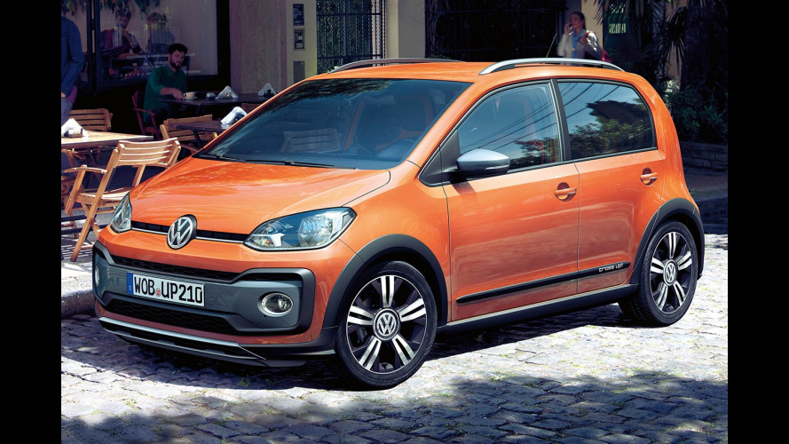 Volkswagen cross up!, restyling in salsa offroad