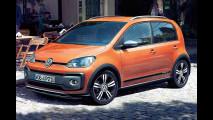 Volkswagen cross up!, restyling in salsa offroad