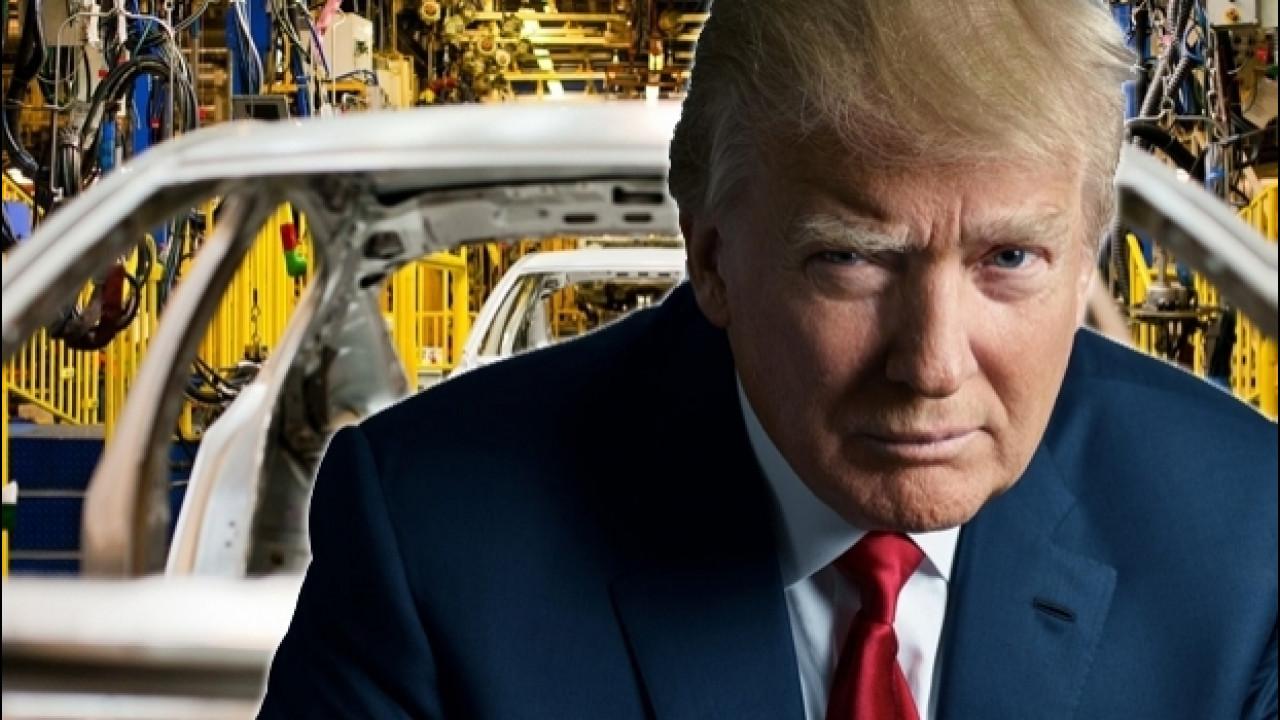 [Copertina] - Donald Trump, cosa rischia l'industria dell'auto (nel bene e nel male)
