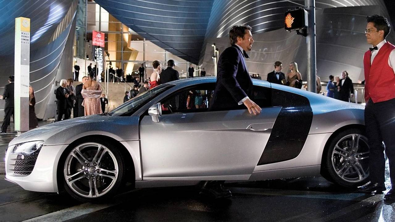 Good: Audi R8 in Iron Man