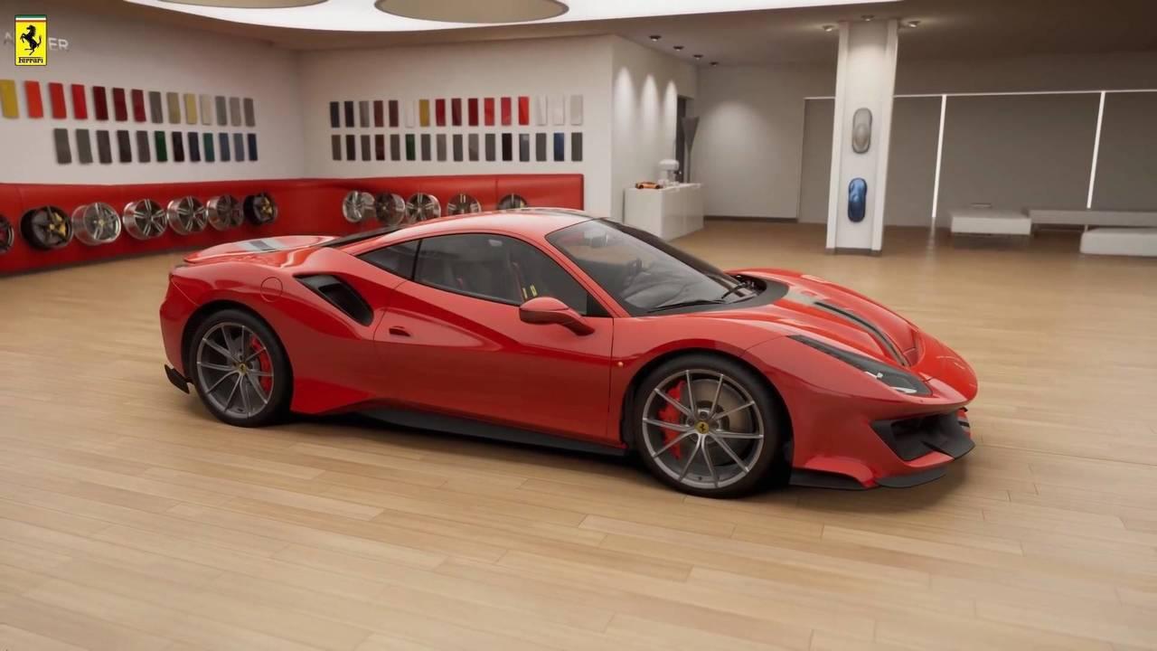 Ferrari 488 Pista leaked official image