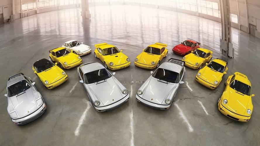 Elképesztő Porsche-kollekciót kínál árverésre az RM Sotheby's