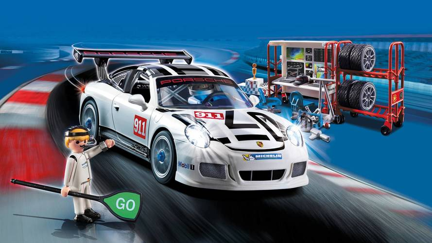 Playmobil Builds A Porsche 911 GT3 Cup For Kids