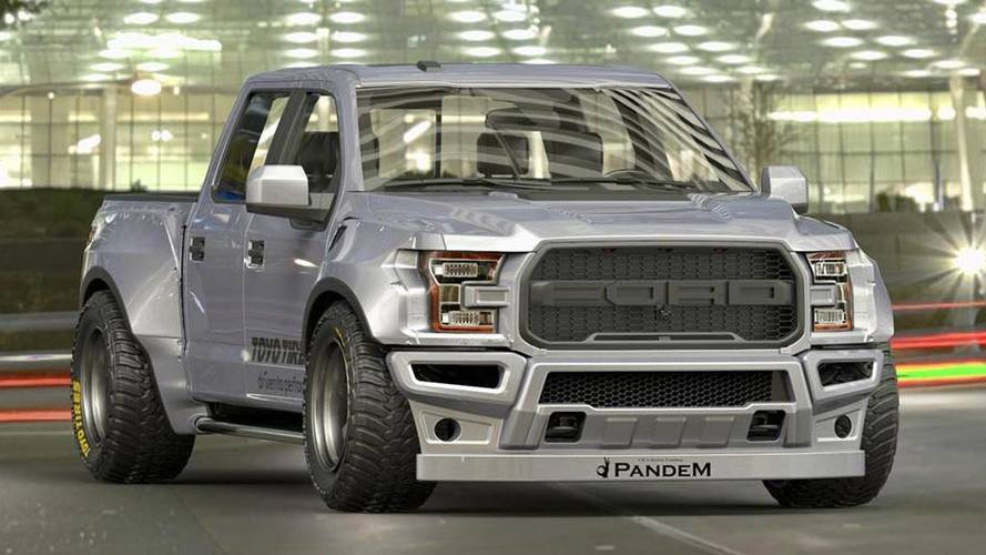 Forget Practicality, Rocket Bunny Renders Widebody F-150 Raptor
