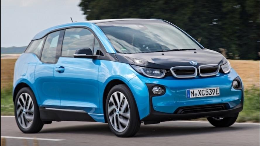 BMW i3, più autonomia con le nuove batterie