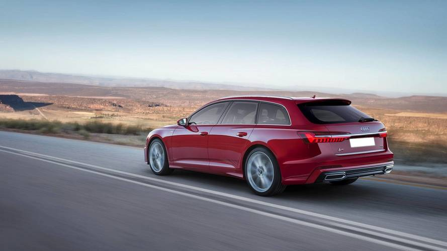 Audi A6 Avant, Allroad, RS6 Already Exist In Photoshop