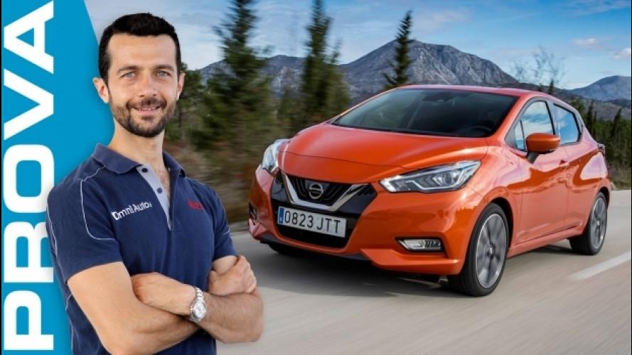 Nuova Nissan Micra, vuole tornare protagonista [VIDEO]