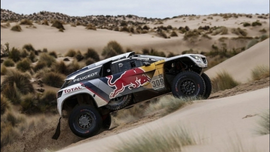 Dakar 2017, Peterhansel vince una tappa densa di colpi di scena