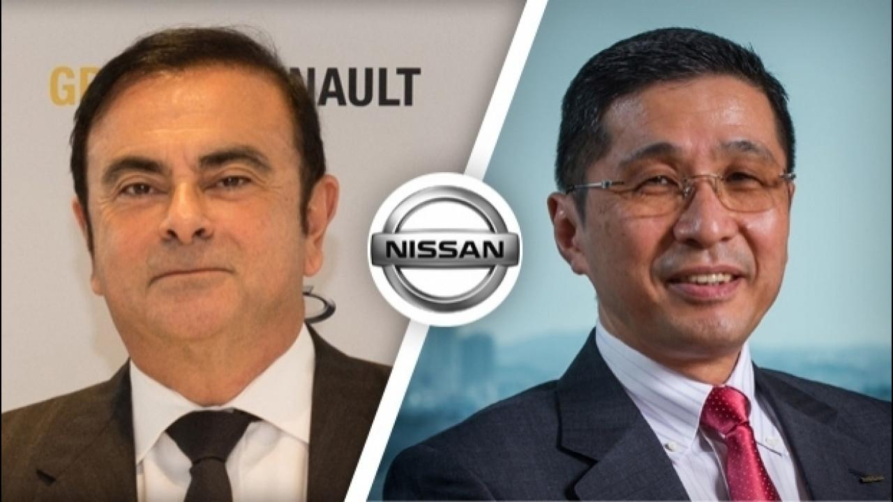 [Copertina] - Nissan, l'ad Carlos Ghosn lascia il posto a Hiroto Saikawa