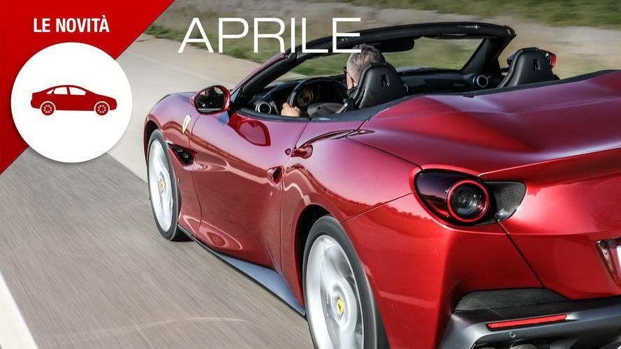 Novità auto aprile 2018, il mese dei sogni