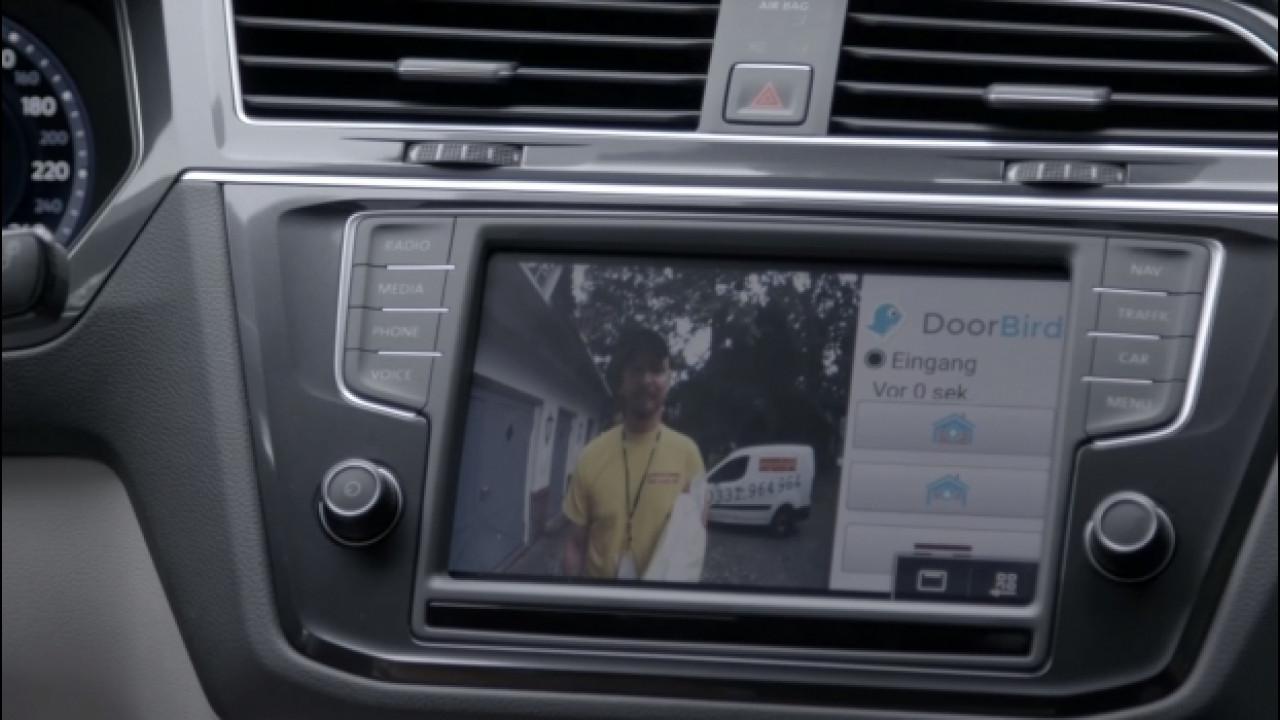 [Copertina] - Volkswagen, il citofono si apre dall'auto [VIDEO]
