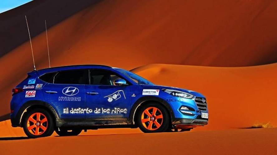 Hyundai, una vez más, apoya El Desierto de los Niños 2018