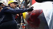 Ricciardo & Verstappen - Melbourne, Graffiti