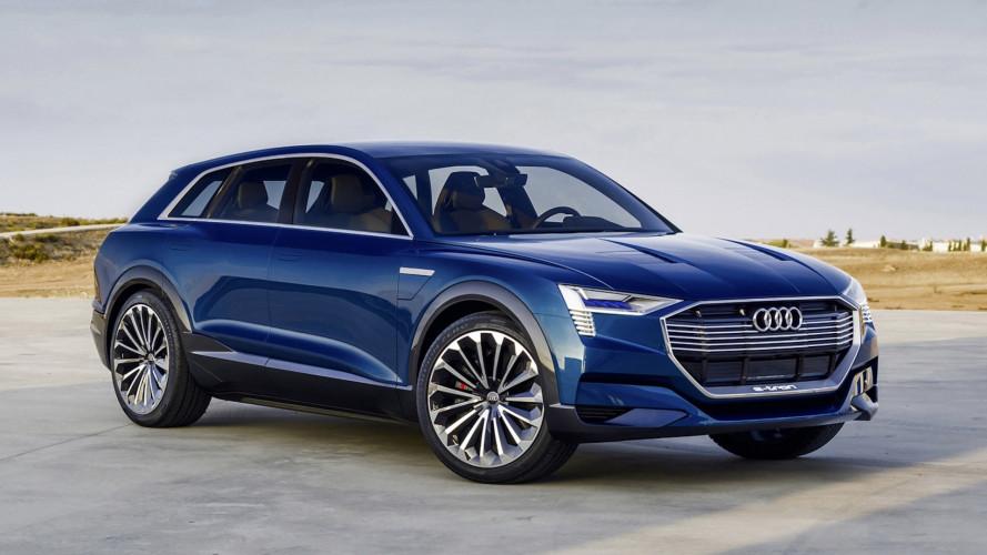 Audi e-tron, ordini aperti in Svizzera, Austria e Belgio