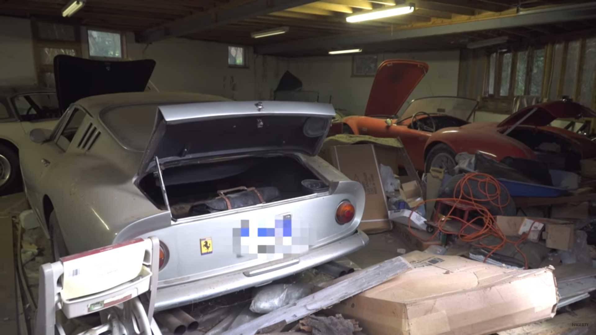 Amazing Ferrari 275 Gtb Shelby Cobra Barn Find Worth 4m
