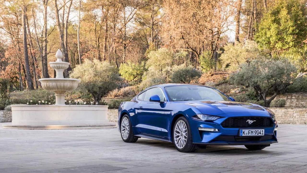 Ford Mustang 2018 primera prueba