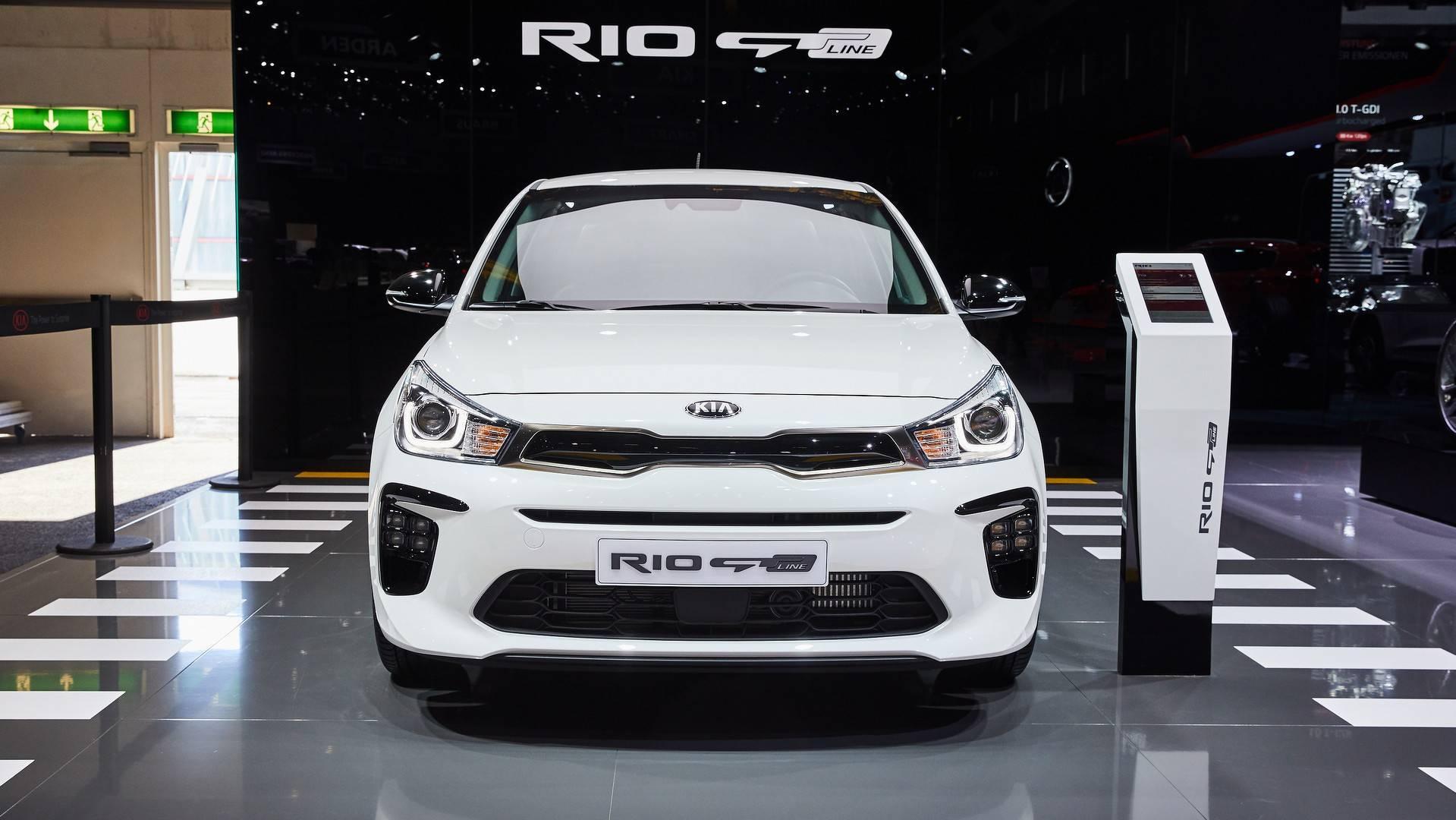Kia Rio Gt Line Live From Geneva Motor Show