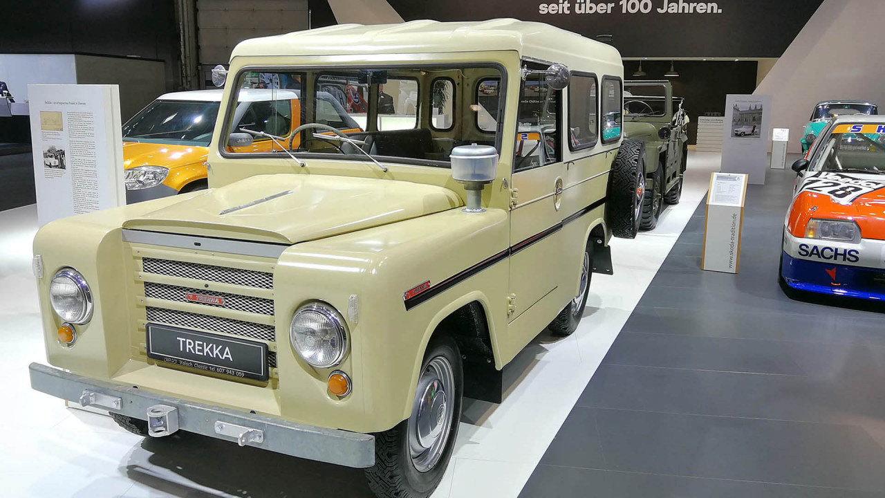 Techno Classica 2018: SUV-Vorläufer bei Skoda